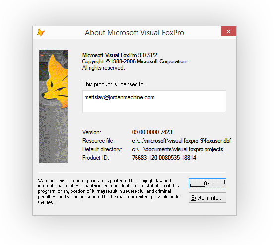 Does Microsoft Visual FoxPro 9 run on Windows 10? | Matt Slay, PhC